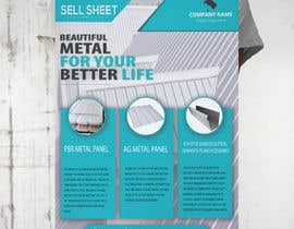 "#60 for Sell Sheet - PBR Metal Panel, Ag Metal Panel & 6"" K-Style Seamless Gutters af hmdyakub9876"