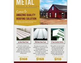 "#49 for Sell Sheet - PBR Metal Panel, Ag Metal Panel & 6"" K-Style Seamless Gutters af shahzadhai888"