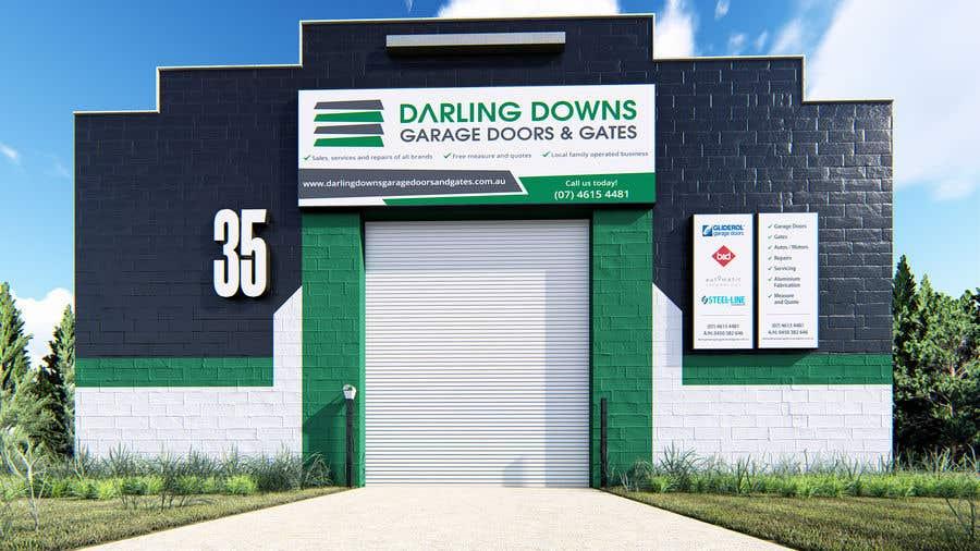 Penyertaan Peraduan #52 untuk Building Signage / Shop Front Design