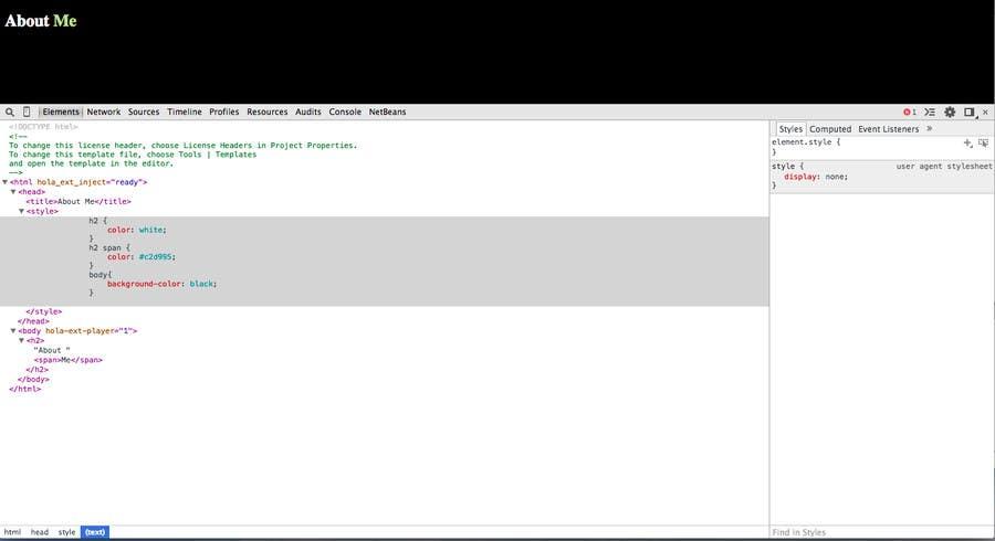 Penyertaan Peraduan #                                        21                                      untuk                                         Squarespace CSS simple code fix
