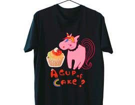 #39 for T-shirt designs for my cupcake shop! by RedGella