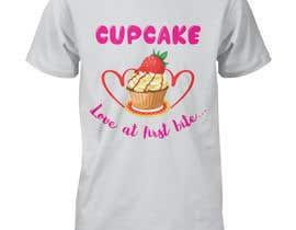 #73 for T-shirt designs for my cupcake shop! by msgraphics1439