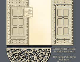 #16 cho Vectorize photograph of wooden doors for laser cut invitation pocket bởi saurov2012urov
