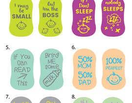 nº 25 pour Amazing Baby Socks Design Contest par eling88