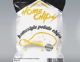 #69 for Potato Chip Bag Label Needed! by mop3ddd