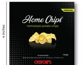 #75 for Potato Chip Bag Label Needed! by Cleanlogos