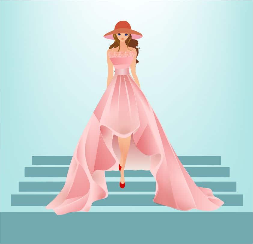 Penyertaan Peraduan #24 untuk Realstic Fashion/Costume Illustration for Doll App in Japan