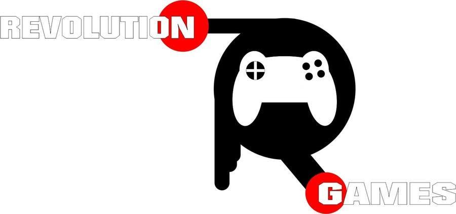 Kilpailutyö #                                        5                                      kilpailussa                                         Logo Design for Revolution Games