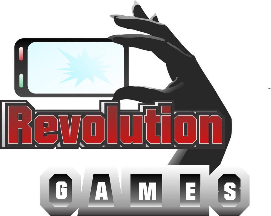 Kilpailutyö #                                        10                                      kilpailussa                                         Logo Design for Revolution Games