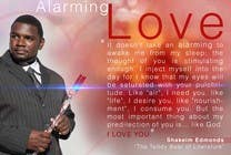 "#18 for Flyer Design for (Author) Skakeim Edmonds, ""Alarming Love"" by appleheart"