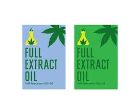 Nro 51 kilpailuun Logo for FULL EXTRACT OIL packaging käyttäjältä eling88