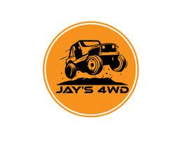"#56 cho simple old Toyota truck Logo for ""Jay's 4WD"" bởi moinulislambd201"