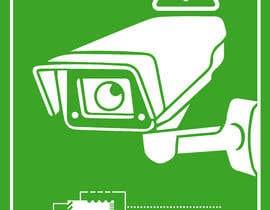 #19 untuk Need video surveillance decal designed. oleh nhicko07