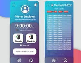 #10 para UI design for mobile app (location-based check-in) por mursman