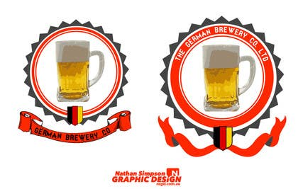 Graphic Design Contest Entry #20 for Logo for a German Brewery