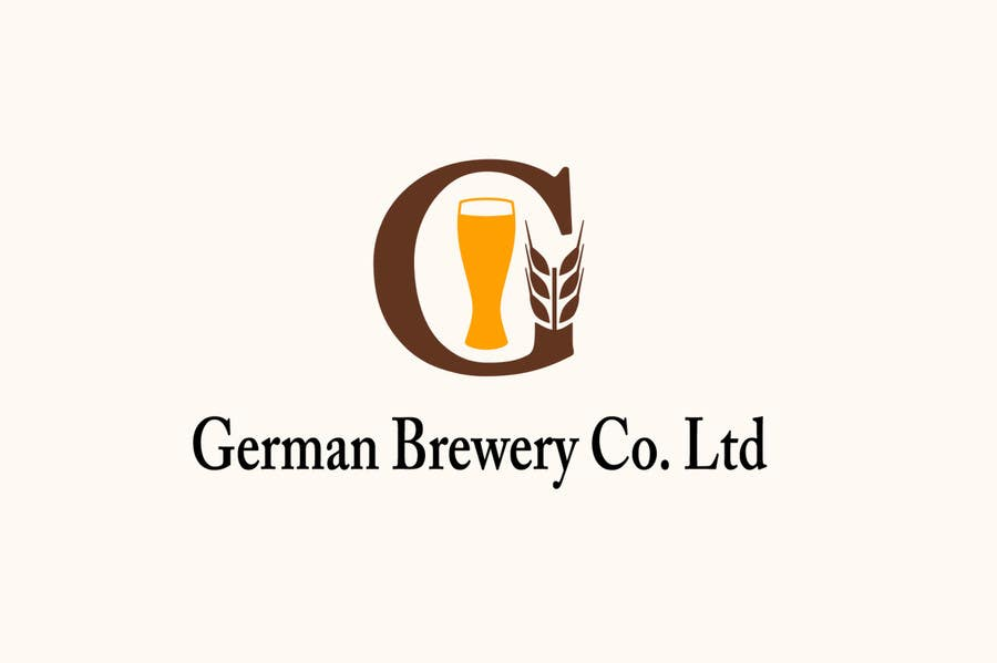 Inscrição nº                                         21                                      do Concurso para                                         Logo for a German Brewery