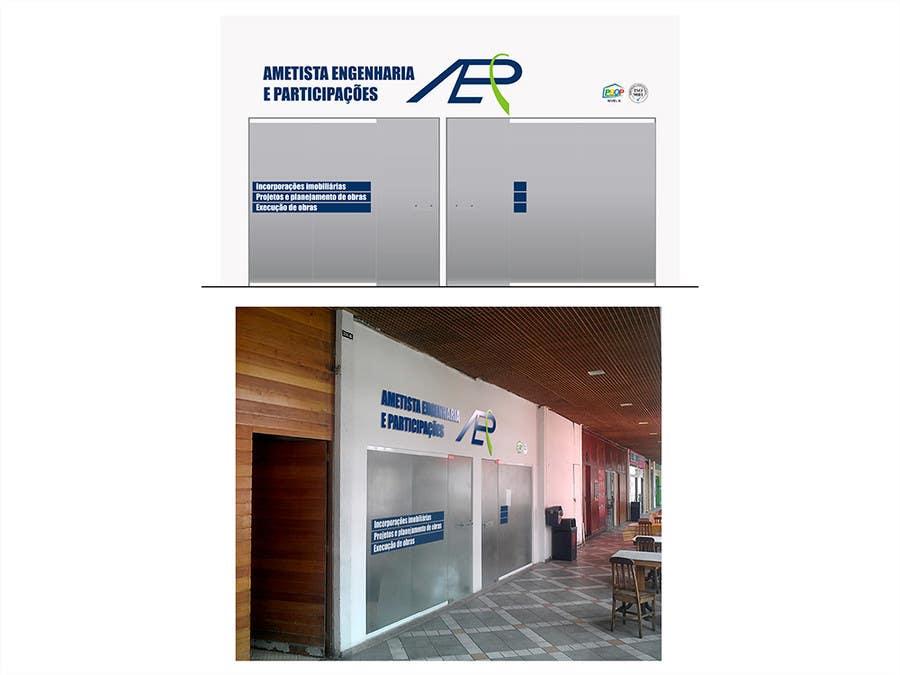 Inscrição nº                                         2                                      do Concurso para                                         Illustration Design for office storefront