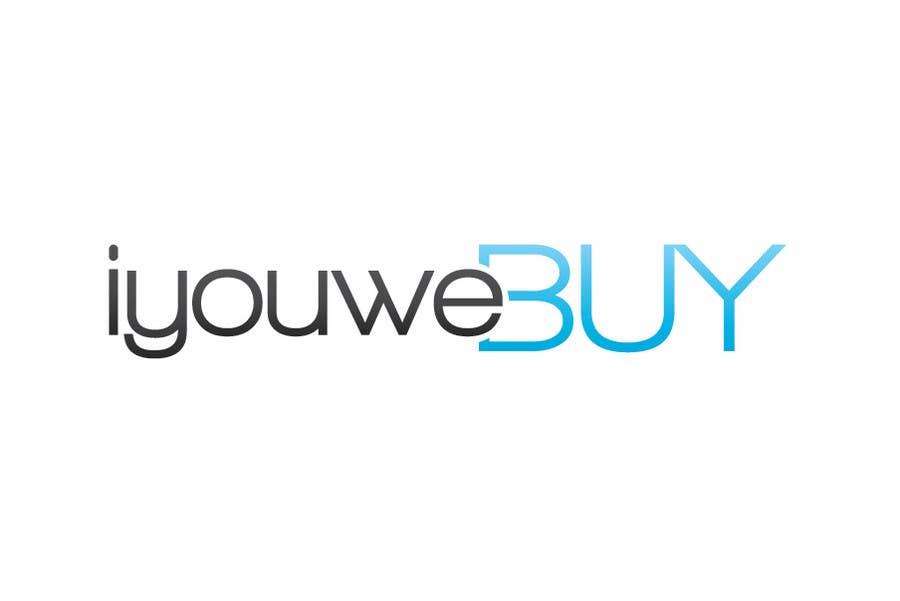 Penyertaan Peraduan #130 untuk Logo Design for iyouwebuy (web page name)