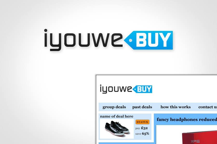Inscrição nº                                         170                                      do Concurso para                                         Logo Design for iyouwebuy (web page name)