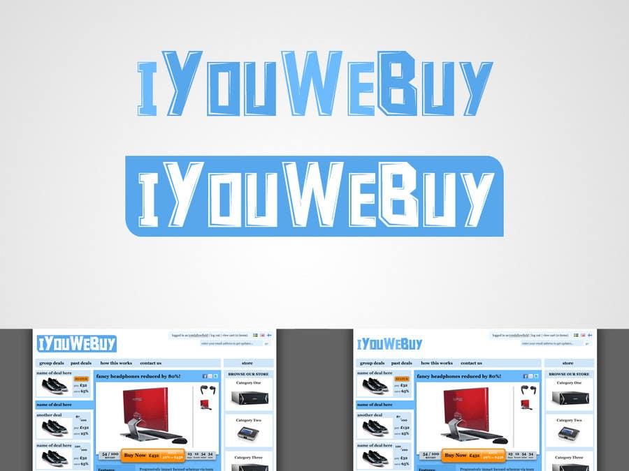 Inscrição nº                                         50                                      do Concurso para                                         Logo Design for iyouwebuy (web page name)