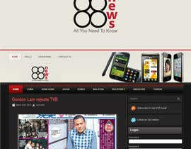 #47 untuk Logo + Header Backgroun Design for 88news oleh HammyHS