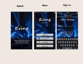 #56 для Mobile App design contest - nightlife App от mirzaumer7