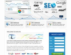 #9 for Wordpress Theme Design for Seo Company by patil1987