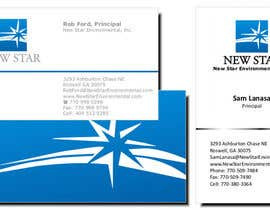 #4 para Business Card Design for New Star Environmental de junnsweb