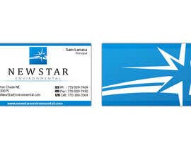 #95 for Business Card Design for New Star Environmental by mattu2011