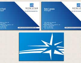 #84 para Business Card Design for New Star Environmental de risid1