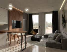 #17 for living room with small kitchen design by joksimovicana