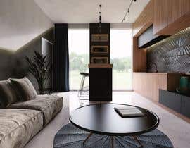#54 for living room with small kitchen design by joksimovicana