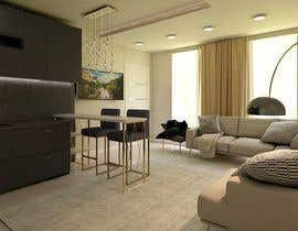 #9 for living room with small kitchen design by asmaamohamed7104
