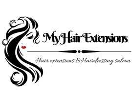 nº 4 pour Hair Extensions & Hairdressing logo par sitizurianey