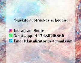 #16 for Instagram business account picture with how to contact details by Pulak5766