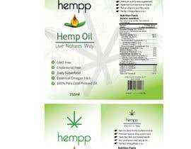 fizar2012 tarafından Hemp Protein & Oil Package Design / Labels için no 18
