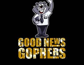 #46 for Make this Gopher a Missionary - T-Shirt Logo af RibonEliass