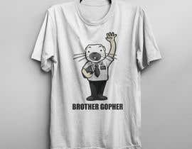#48 for Make this Gopher a Missionary - T-Shirt Logo af ikramulhaq8282