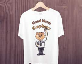#50 for Make this Gopher a Missionary - T-Shirt Logo af moronaponno
