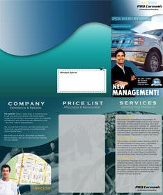 Graphic Design Contest Entry #1 for Brochure Design for Professional Car Detailing Service