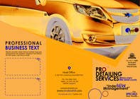 #4 for Brochure Design for Professional Car Detailing Service by BKDesigns1