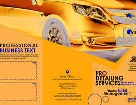 #4 para Brochure Design for Professional Car Detailing Service por BKDesigns1