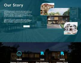 #19 for Design a Home Page UI using photoshop or Adobe XD by Manitejssvhs