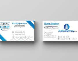 #63 for Business card For real estate appraiser 2 by prodesignmax
