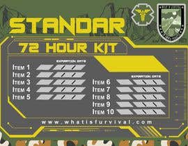 #9 for Design graphics for my survival kit case by Omarjmp