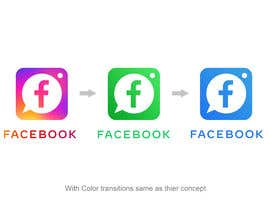 Valdz tarafından Create a better version of Facebook's new logo için no 1454