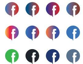 tajminaakhter03 tarafından Create a better version of Facebook's new logo için no 1398