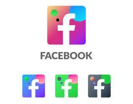 #1004 untuk Create a better version of Facebook's new logo oleh Monsur1023