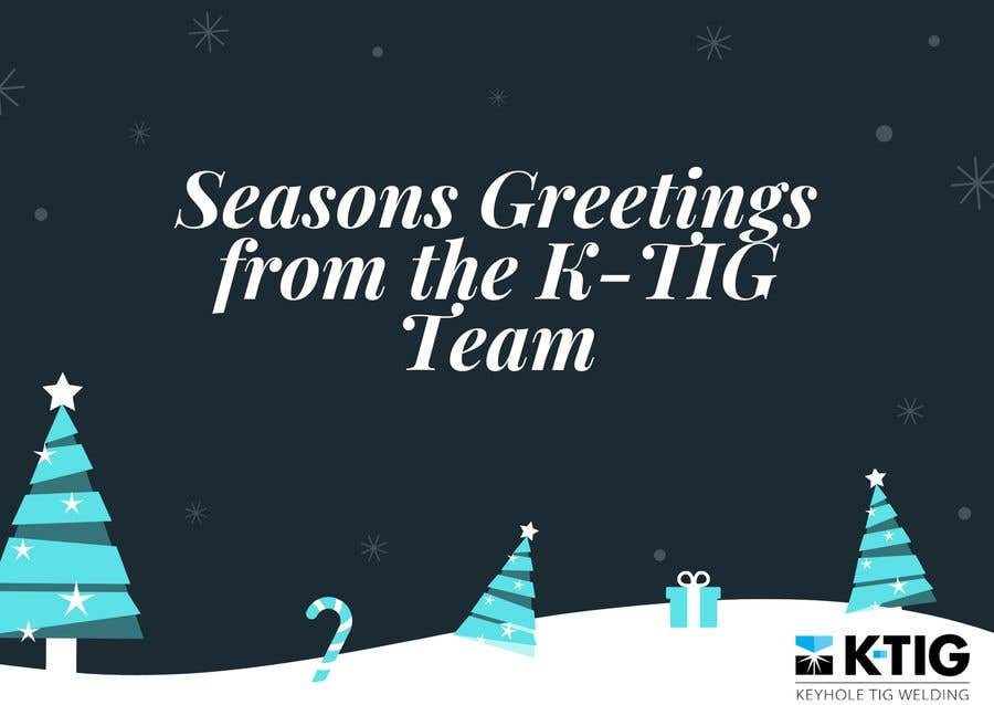 Contest Entry #                                        3                                      for                                         Design a branded Seasons Greeting card and animation suitable for email