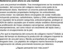 #36 para Artículo de 200 palabras sobre suplemento nutricional de JavierApolinar